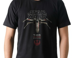 Camiseta Geek Filme Star Wars X-WING