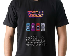 Camiseta Geek Games Top Gear SNES Sprites