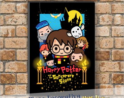 Placa decorativa - Harry Potter