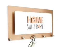 Porta Chaves/Cartas Momento Casa Home Rose Gold Ref 239