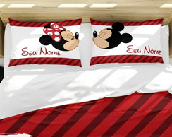 Kit Fronhas Casal Mickey e Minnie | CT006AM