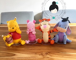 1 Personagem da turma do pooh- valor unitário- - 15cm