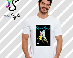 Camiseta Rick and Morty - Rick Sanchez e Morty Smith