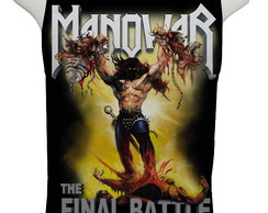Camiseta Manowar The Final Battle - Regata