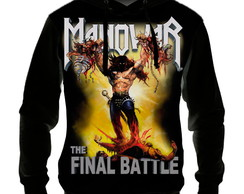 Blusa Moletom - Manowar The Final Battle - Casaco de Frio