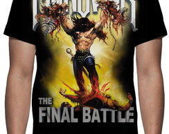 Camiseta Manowar The Final Battle - Estampa Total