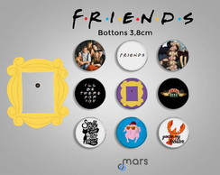 Bottons Friends 3,8cm