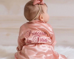Robe Hobby roupao infatil infatil baby personalizado