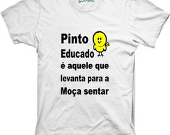 Camiseta Pinto Educado
