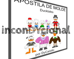 Apostila digital de molde Ducktales