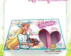 Kit Mini Confeiteiro Barbie