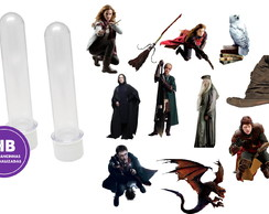 Aplique para tubete Harry Potter