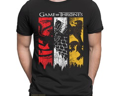 Camiseta Targaryen Game Of Thrones House Stark Nerd Série