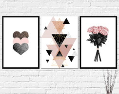 Quadros Decorativos - Placas Beauty