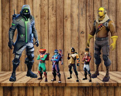 KIT DISPLAY TEMA FORTNITE FESTA INFANTIL