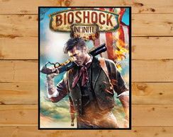 Poster Quadro BioShock Infinite Playstation 3 PS4 X Box 360