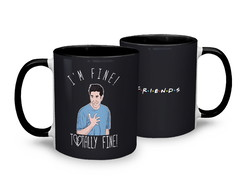 Caneca Friends Totally Fine!
