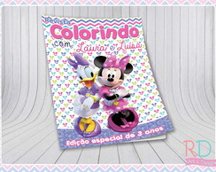 Livrinho de Colorir Minnie e Margarida