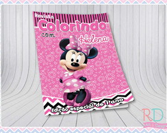 Livrinho de Colorir Minnie Rosa