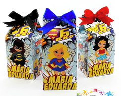 Mini Caixa Milk Super Heroinas