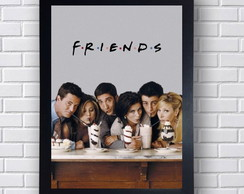 Poster Decorativo Elenco Friends
