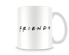 caneca friends logotipo seriado amigos presentes frases