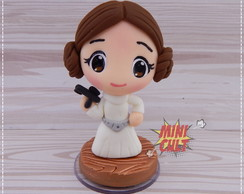 Mini Toy Chibi Princesa Leia