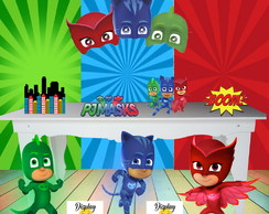 KIT PJ MASK MDF