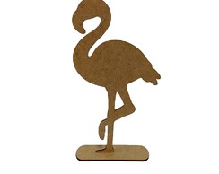 Flamingo 30cm MDF - Festa tropical - Flamingo
