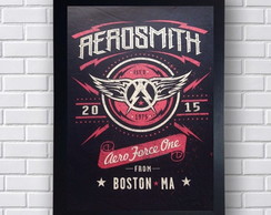 Poster Decorativo Aerosmith