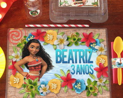 Kit Festa Escolar Moana