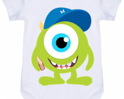 Body Infantil Mike Monstros Sa #349 (colocamos o nome)