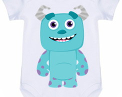 Body Infantil Sulley Monstros Sa #353 (colocamos o nome)