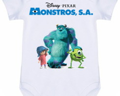 Body Infantil Sulley Monstros Sa #355