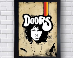 Quadro Decorativo Banda The Doors