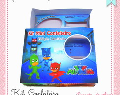 Kit mini confeitaria PJ Masks