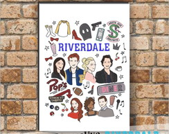 Placa decorativa - Riverdale
