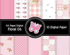 Kit Scrapbook Digital Shabby Chic