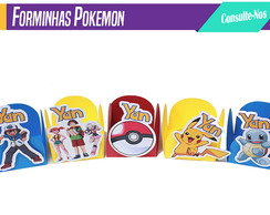 Forminhas no tema Pokemon