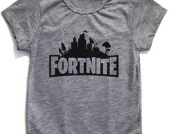 Camiseta Mescla Infantil, Fortnite