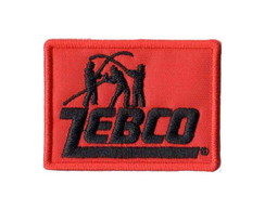 Patch Bordado - Logo Marca Zebco DV80501