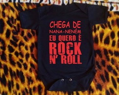 Body Personalizado - Rock and Roll