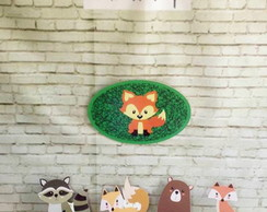 KIT ANIMAIS NO BOSQUE ´MDF