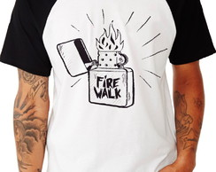 Camiseta Raglan -Life Is Strange Fire Walk