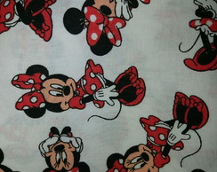 Tecidos Disney Minnie mouse