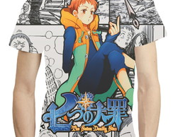 Camisa Camiseta King Nanatsu No Taizai - Estampa Total 10