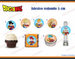 Adesivos/apliques do tema Dragon Ball