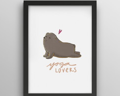 Poster - Yoga Lovers