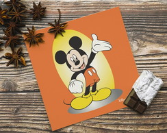 Placa decorativa 20x20cm Mickey