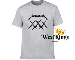 Camiseta Metalica Rock Roll